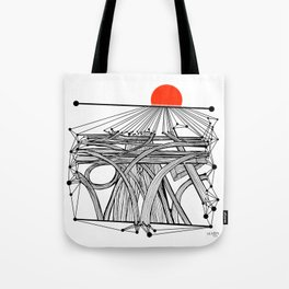 the Roads Tote Bag