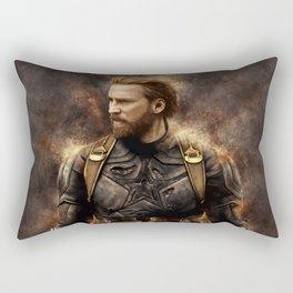 Steve Nomad Rogers Rectangular Pillow