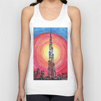 the national Tank Tops featuring National Pride by sladja