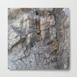 Cliff Hanger Metal Print
