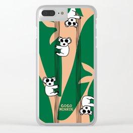 Koaala Karu (Koala Bear) Clear iPhone Case