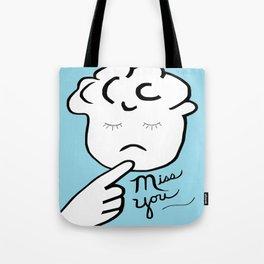 ASL Miss You Tote Bag