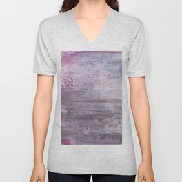 Abstract No. 442 Unisex V-Neck