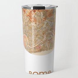 ROME ITALY - city poster - city map poster print Travel Mug