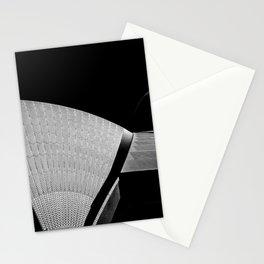 Sydney Opera House Sails Detail Mono Stationery Cards