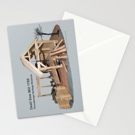 Deall Saw Mill Model Stationery Cards