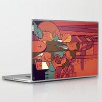 vertigo Laptop & iPad Skins featuring Vertigo by Ale Giorgini