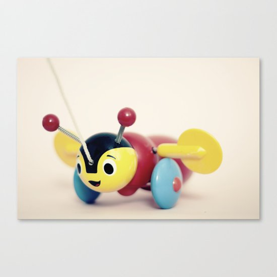 Buzzy Bee Canvas Print
