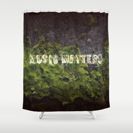 Music Matters Shower Curtain