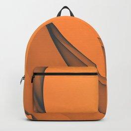 Zen Beach Orange Backpack