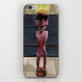 Native American Effigy Figure iPhone Skin
