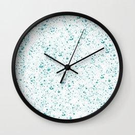 Deep Paradise Wall Clock