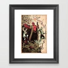 Rasputin's Diary Framed Art Print