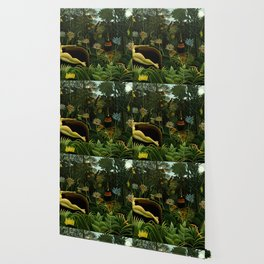 Henri Rousseau The Dream Painting Wallpaper