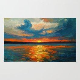 Sunset Impression Rug