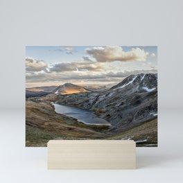 Hidden Lake Wyoming Mini Art Print