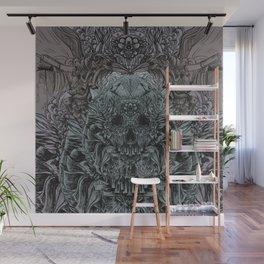 Skull Peaces Wall Mural