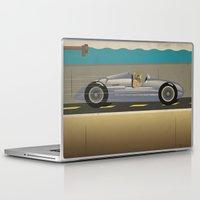 scuba Laptop & iPad Skins featuring Scuba Driver by Chris Cooch