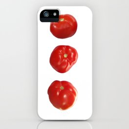 Vegetable tomatoes for the kitchen, Tomato poster Kitchen-art iPhone Case