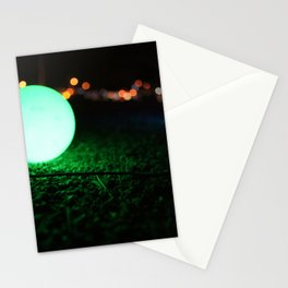 Light and Focus (Green) Stationery Cards