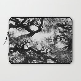 Tree of Japan (black and white edit) Laptop Sleeve