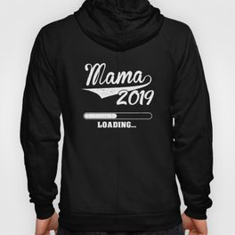 Promoted to Mama Est 2019 Becoming Mother Gift Hoody