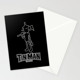 Tin Man Games logo Stationery Cards