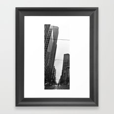 L'homme fourmi Framed Art Print