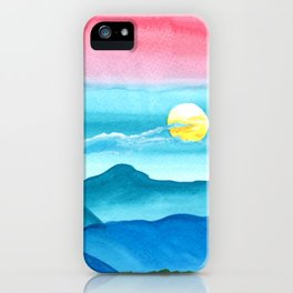 Autumn Moon Festival iPhone Case