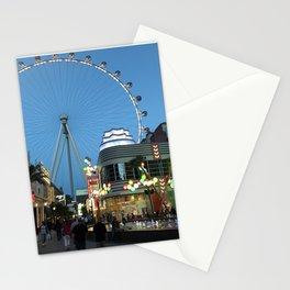 High Roller Observation Wheel in Las Vegas Stationery Cards