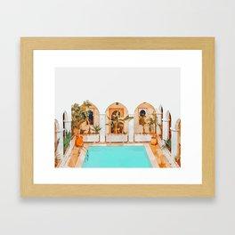 Turkish Holiday #painting #travel Framed Art Print