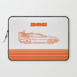 Back To The Future - Delorean - Stroke Laptop Sleeve