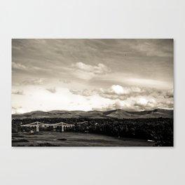 Bala,Wales 2009 Canvas Print