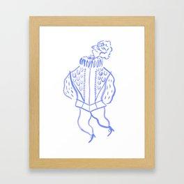Sir Nicholas de Mimsy-Porpington Framed Art Print