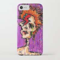 aladdin iPhone & iPod Cases featuring Aladdin Sane by brett66