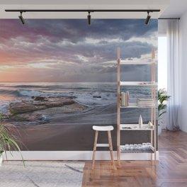 Beautiful Beach Sunset Wall Mural