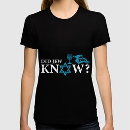 Did Jew Know? Jew Or Rabbi Gift T-shirt