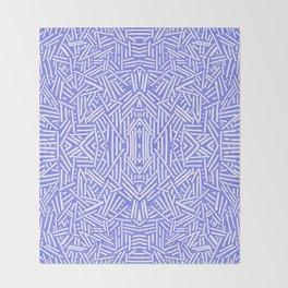 Radiate (Periwinkle) Throw Blanket