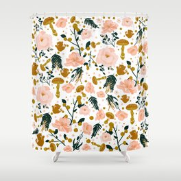 Enchanted Squirrel Shower Curtain