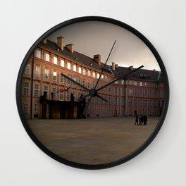 Prague Castle Wall Clock