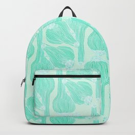 Garlics Pattern in Pastel Green Backpack