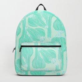 Garlics Pattern in Pastel Green Backpack