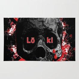 Blood Skull - LOKI Rug