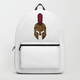 Bloody Spartan Helmet | Warrior Training Backpack