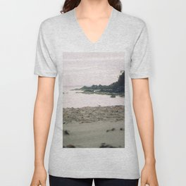 Coles Bay Sunset Seagull Unisex V-Neck