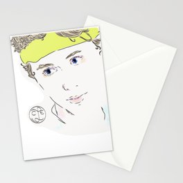 cute even Stationery Cards