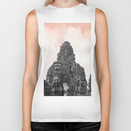 Angkor Wat with candy Biker Tank