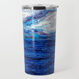 Cotton Candy Ocean Travel Mug