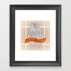 Falcon Carpe Diem Framed Art Print