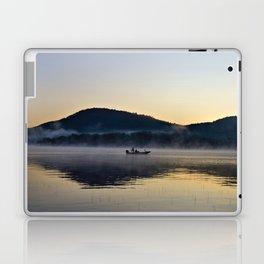 Fishing in the Morning Mist Laptop & iPad Skin